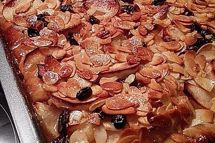 Kandierter Apfelkuchen (Bild)