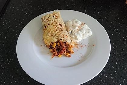 Überbackene Enchiladas mit Tzatziki 28