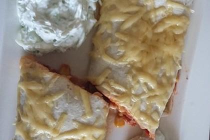 Überbackene Enchiladas mit Tzatziki 29