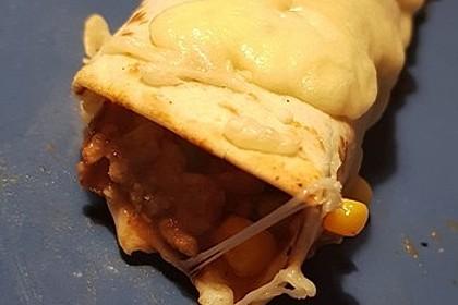 Überbackene Enchiladas mit Tzatziki 26