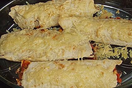 Überbackene Enchiladas mit Tzatziki 20