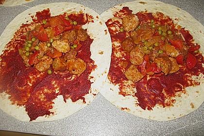Überbackene Enchiladas mit Tzatziki 30