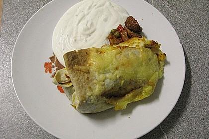 Überbackene Enchiladas mit Tzatziki 34