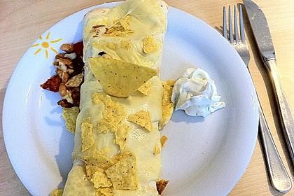 Überbackene Enchiladas mit Tzatziki 19