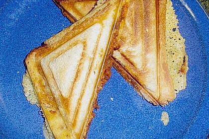 Sandwiches mit Hack und Käse 1