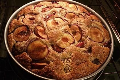 Chrissis Dinkel - Birnen Kuchen 4
