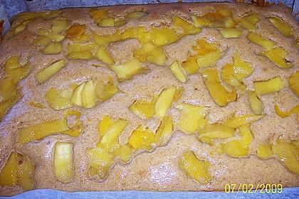 Chrissis Dinkel - Birnen Kuchen 1