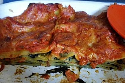 Ischileins Cannelloni mit Spinat und Frischkäse (Bild)
