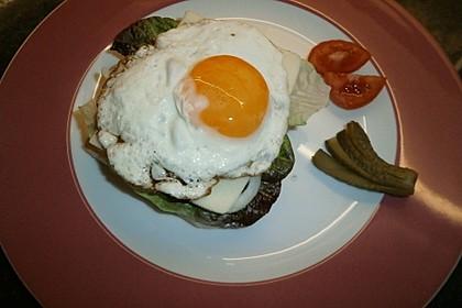 Spiegelei-Brot im Frühling 4
