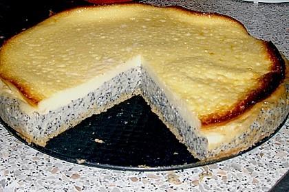 Mohnkuchen mit Schmand und Vanillepudding 7