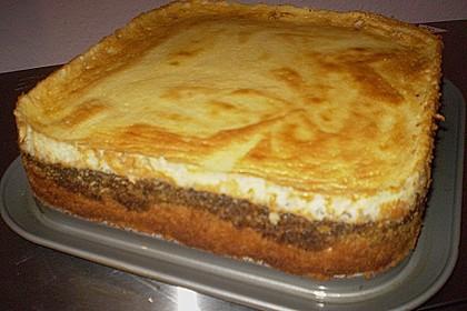 Mohnkuchen mit Schmand und Vanillepudding 20