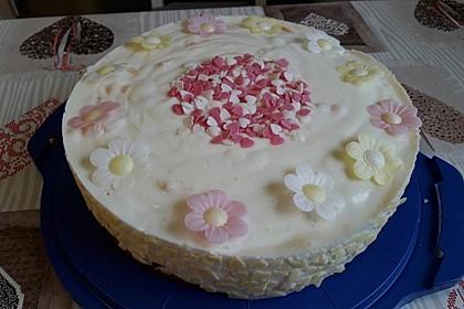 Pfirsich - Joghurt Torte mit Vanillehauch 21