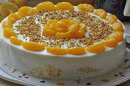 Pfirsich - Joghurt Torte mit Vanillehauch 29