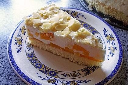 Pfirsich - Joghurt Torte mit Vanillehauch 3