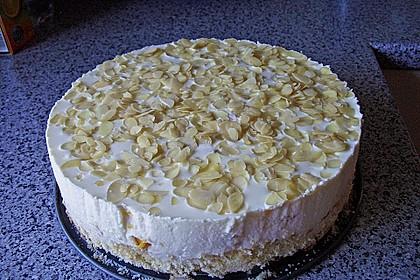 Pfirsich - Joghurt Torte mit Vanillehauch 13