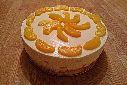 Pfirsich - Joghurt Torte mit Vanillehauch 18
