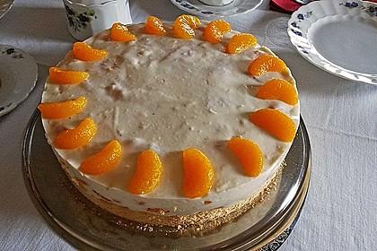 Pfirsich - Joghurt Torte mit Vanillehauch 19