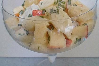 Apfel - Spargelsalat