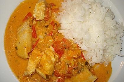 Fischfilet in Tomaten - Estragon - Sauce 16