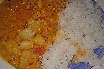 Fischfilet in Tomaten - Estragon - Sauce 18