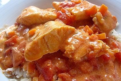 Fischfilet in Tomaten - Estragon - Sauce 6
