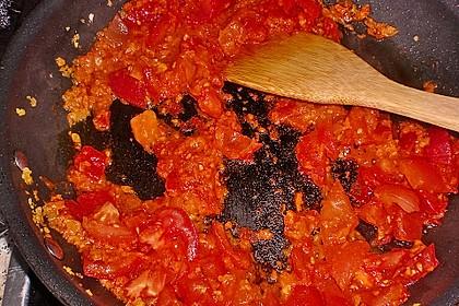 Fischfilet in Tomaten - Estragon - Sauce 24