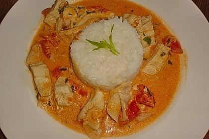 Fischfilet in Tomaten - Estragon - Sauce 1