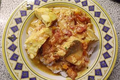 Fischfilet in Tomaten - Estragon - Sauce 20