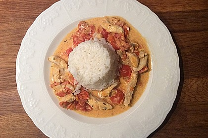 Fischfilet in Tomaten - Estragon - Sauce 2