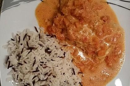 Fischfilet in Tomaten - Estragon - Sauce 3