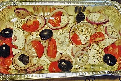 Fetapfanne vom Grill 14