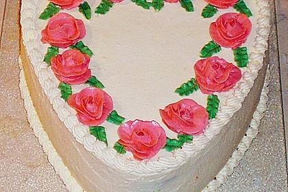 Philadelphia - Erdbeer - Torte 3