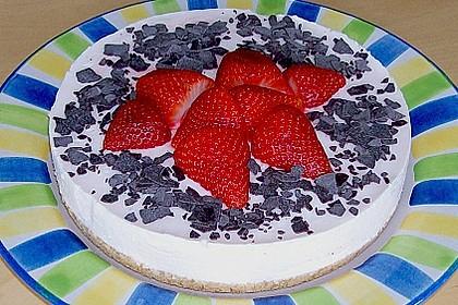 Philadelphia - Erdbeer - Torte