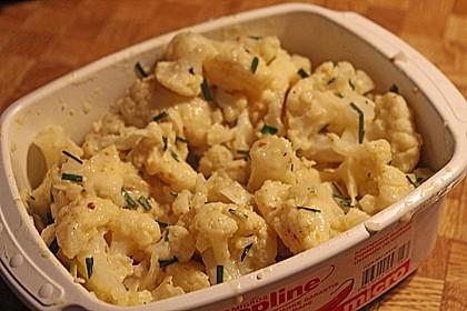 Blumenkohlsalat mit Curry 2