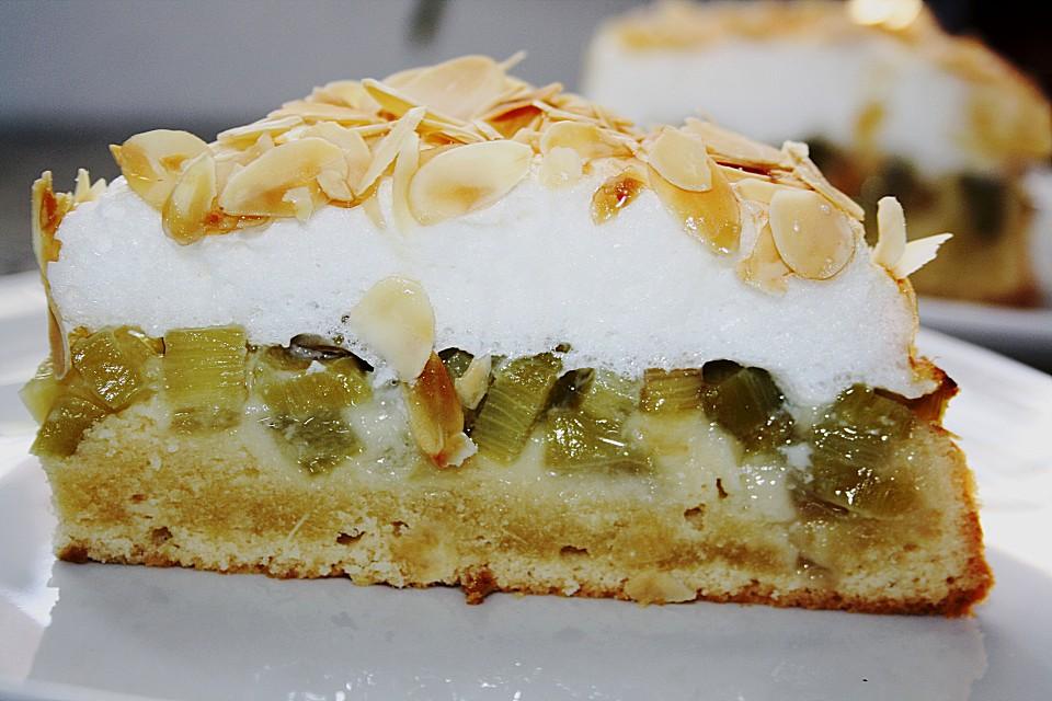 Leckerer Rhabarber Kuchen Mit Baiserhaube Von Susi Leckermaulchen