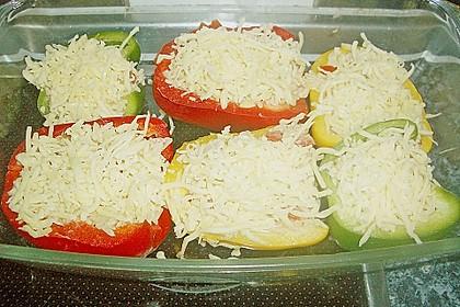 1A gefüllte Paprikaschoten mit Tomatenrahmsoße 45