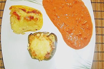 1A gefüllte Paprikaschoten mit Tomatenrahmsoße 40