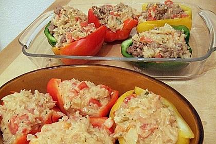 1A gefüllte Paprikaschoten mit Tomatenrahmsoße 38