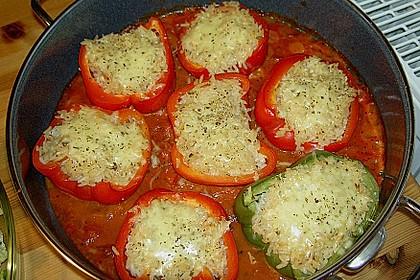 1A gefüllte Paprikaschoten mit Tomatenrahmsoße 11