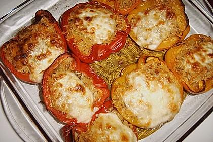 1A gefüllte Paprikaschoten mit Tomatenrahmsoße 39