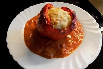 1A gefüllte Paprikaschoten mit Tomatenrahmsoße 49