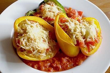 1A gefüllte Paprikaschoten mit Tomatenrahmsoße 17
