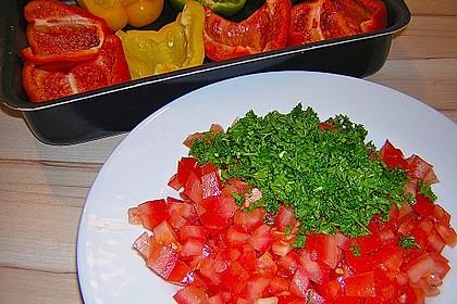 1A gefüllte Paprikaschoten mit Tomatenrahmsoße 28