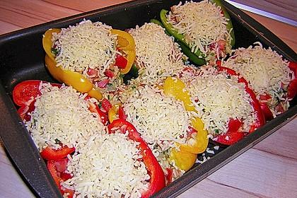 1A gefüllte Paprikaschoten mit Tomatenrahmsoße 32
