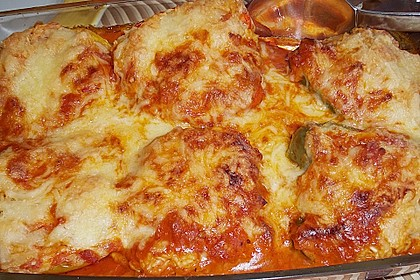 1A gefüllte Paprikaschoten mit Tomatenrahmsoße 27