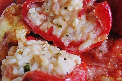 1A gefüllte Paprikaschoten mit Tomatenrahmsoße 48
