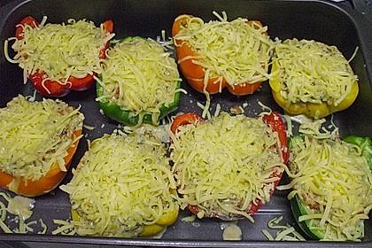 1A gefüllte Paprikaschoten mit Tomatenrahmsoße 41