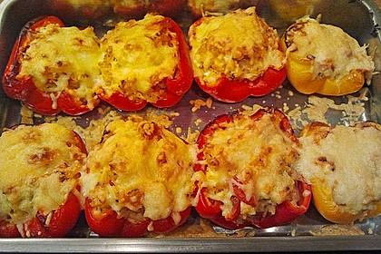 1A gefüllte Paprikaschoten mit Tomatenrahmsoße 22