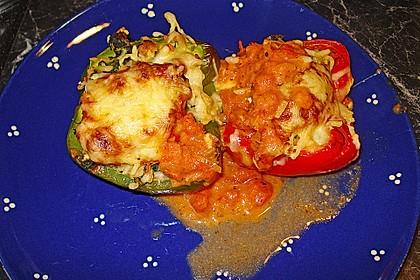 1A gefüllte Paprikaschoten mit Tomatenrahmsoße 14