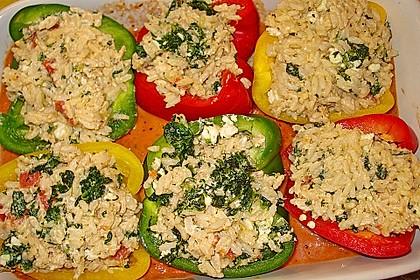 1A gefüllte Paprikaschoten mit Tomatenrahmsoße 23